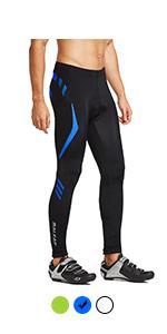 mens cycling tights padded