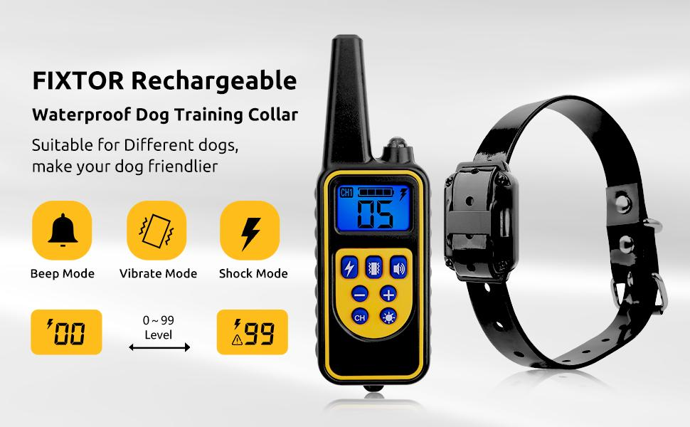 FIXTOR dog training collar