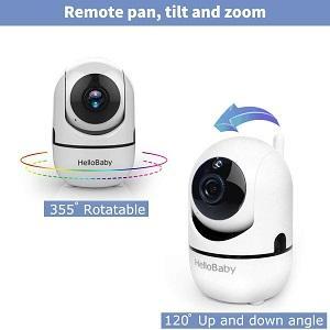 Remote Camera Pan-Tilt-Zoom