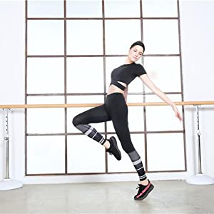 Woman sports top