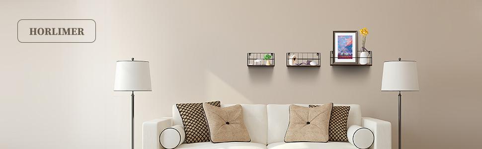 HORLIMER floating wall shelf