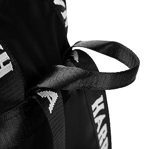 Short top handle of the satchel