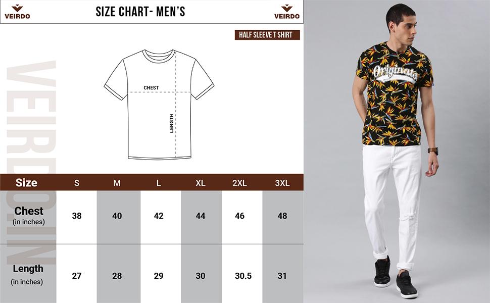 Floral t-shirt for men/Boy