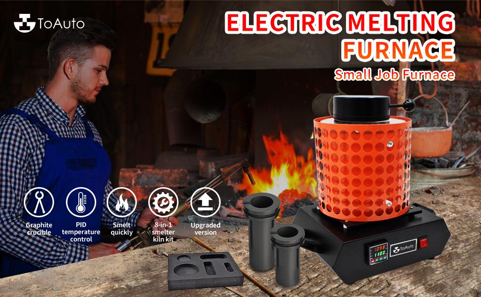 Electric Digital Gold Melting Furnace