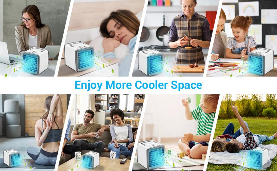 Enjoy More Cooler Space