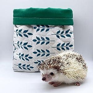 Hedgie Sack Care Bears Hedgehog Snuggle Sack Small Animal Sleeping Bag Cozy Sack