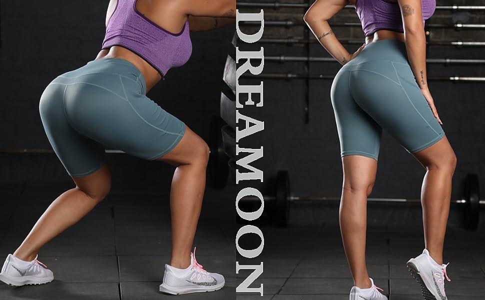 DREAMOON Workout Biker Shorts for Women