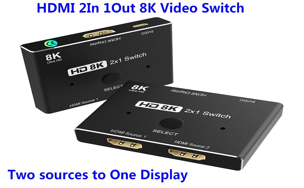 HDMI 8K Switch