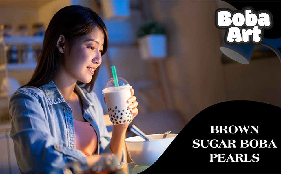 Tapioca pearls for bubble tea
