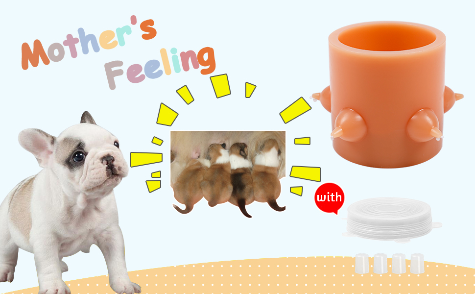 doggy bubble milk bowl