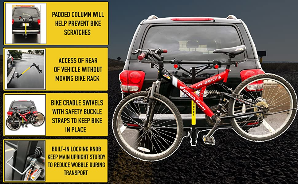 Reese Thule Swagman Hollywood Allen MaxxHaul bike rack hitch mount receiver bicycle Apex carrier
