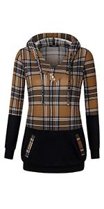 womens casual hoodies tops