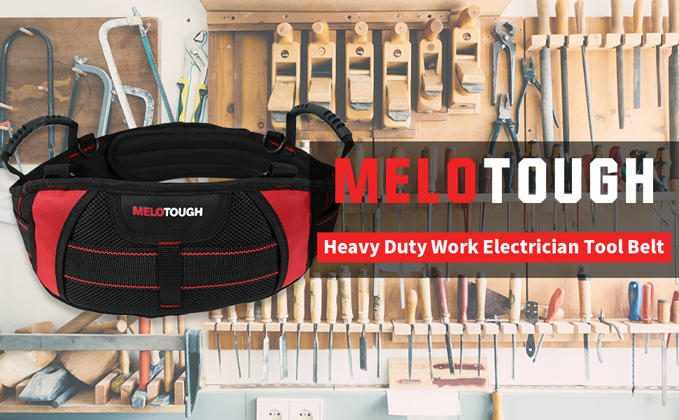 Heavy Duty Work Tool Belt with Extra Comfortable Foam