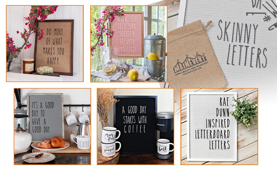 rae dunn skinny letters for letter board message board letter board with letters letter boards