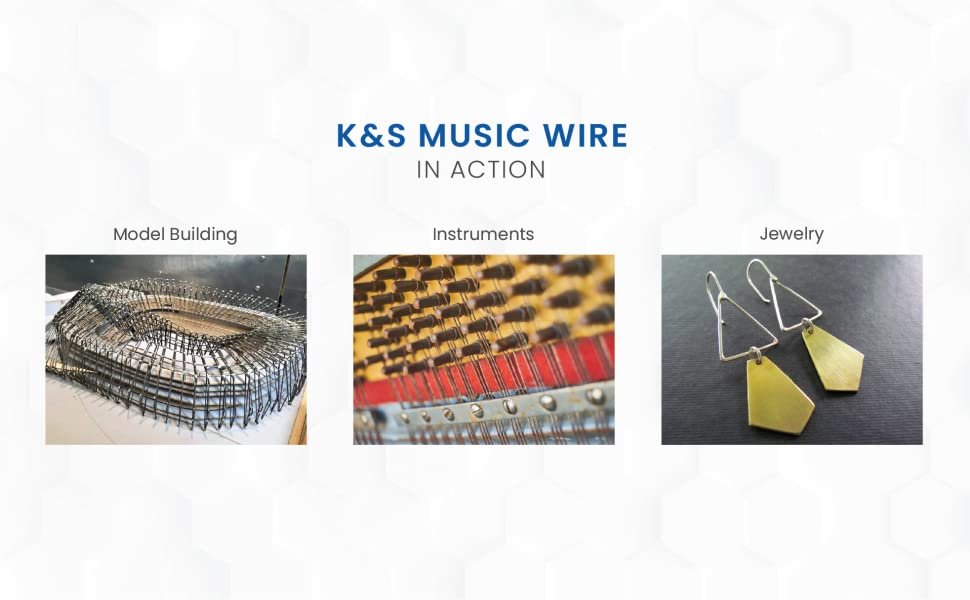 Kamp;S Music Wire Uses