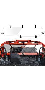 x3 rear windshield