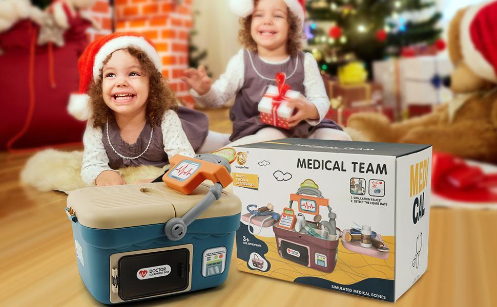 Doctor Kit for Kids,Pretend Medical Toys Playset