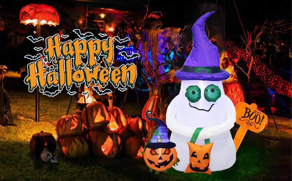 Halloween inflatable decor