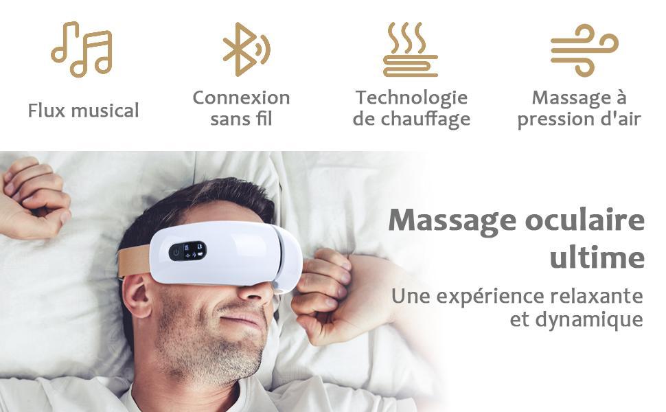 masseur oculaire