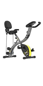 pooboo Folding Magnetic Exercise Bike(Model:X428)