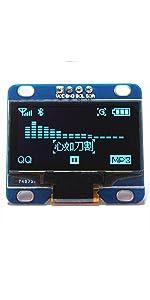 """1.3"""" Blue OLED Display"""