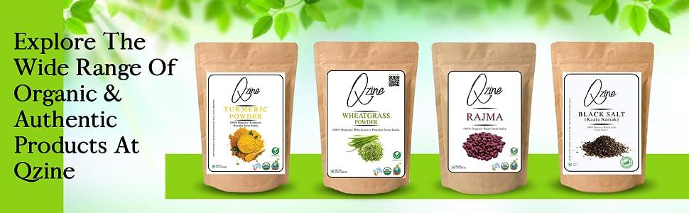 Qzine Organic Brown Sugar, 1Kg - Organic Sugar SPN-FOR1
