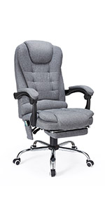 office chair massager with reclinable