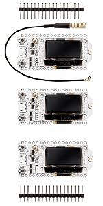3 x NodeMCU ESP32 Heltec mit 0,96 Zoll OLED Display