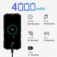 4000mAh Outdoor smartphone
