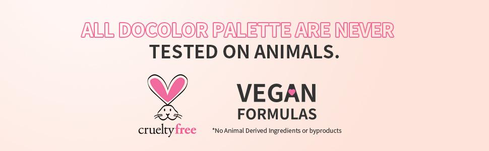 cruelty-free docolor makeup palette