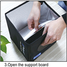 Open the support board
