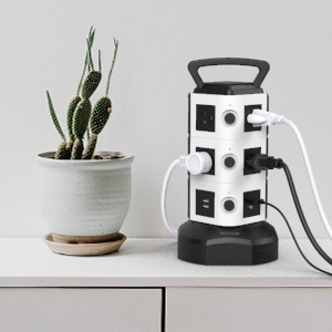 surge protector with USB