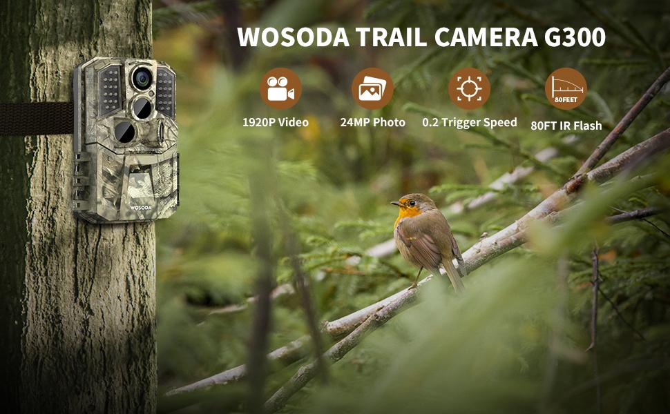 G300 trail camera