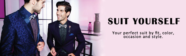 Men's Floral Tuxedo Suit