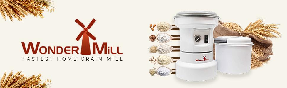 grain grinder, grinder, electric, grain mill, food mill, wheat grinder, flour mill
