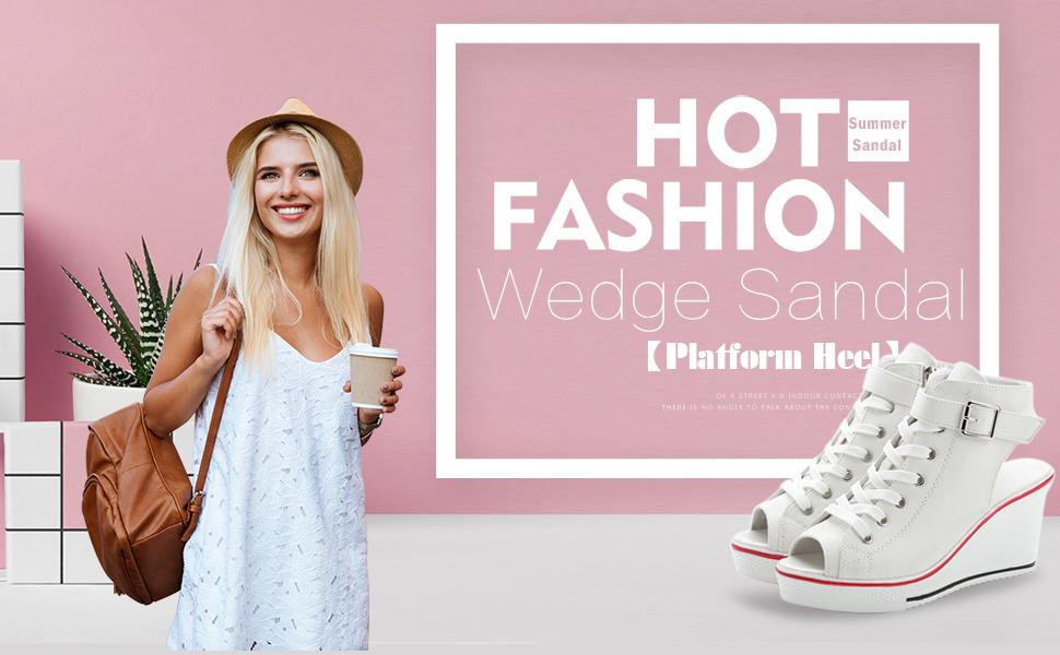 fashion wedge sandal