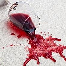 Paco Home Consejo de limpieza: vino tinto