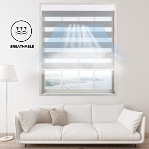 Breathable amp; light filtering