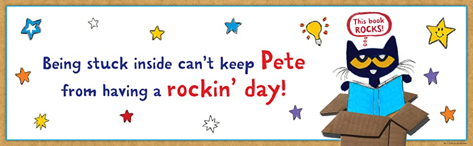 Being stuck inside can't keep Pete from having a rockin' day