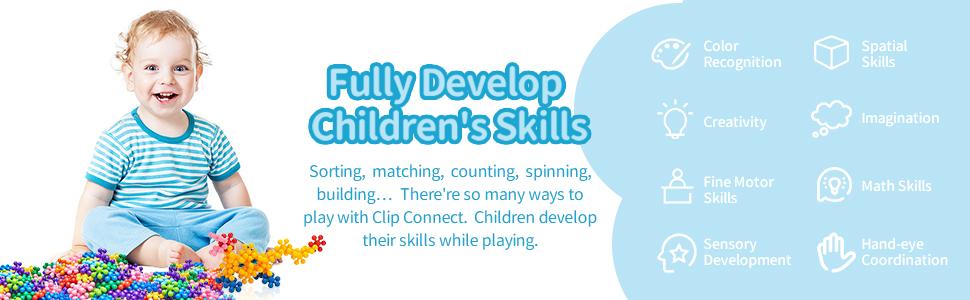 Clip Connect - Develop Skills