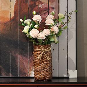 wood vases for decor