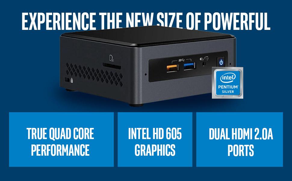 Intel NUC Kit NUC7PJYH with Pentium Silver J5005 Processor