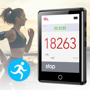 Free armbands and built-in pedometer