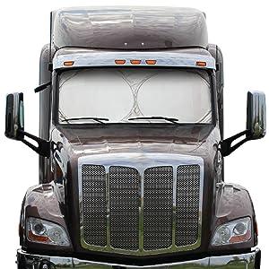 Semi Truck Windshield and Side Window Sunshade