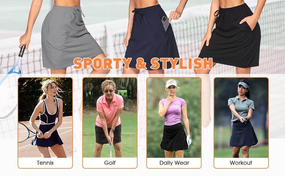 golf skirts