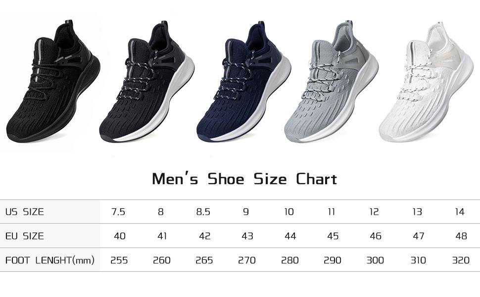 Men's Walking Shoes Comfortable Sneakers