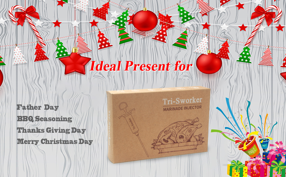 meat injector is a great gift for different holidays