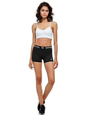 spandex shorts women