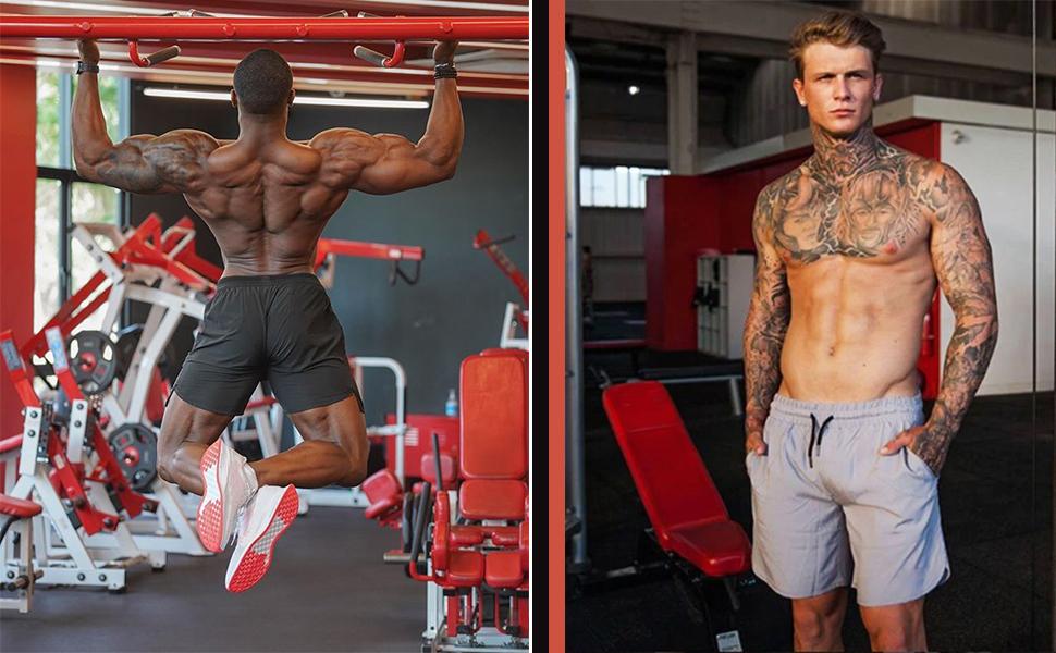 mens gym shorts summer shorts surf shorts