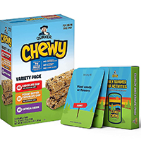 camp chewy granola bars